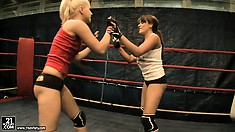 Nude Fight Club presents Brandy Smile vs Valery Summers for the championship