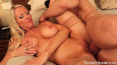 Emma Starr is the cougar that is always ready for some young hard meat