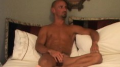 Kirk Nadir trades head and bends over to get his brown hole pumped