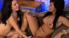 Avy Lee Roth and Valerie relish the sweet taste of each other's cunts