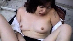 Asian cocksucker is eager to get pleasure from getting pounded