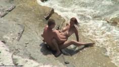 Voyeur On Public Beach Great Sex With Hawt Hotty