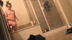 Voyeur Real Hidden Cam In Moscow Shower