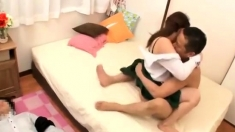 Daddy loves small japanese teen ass