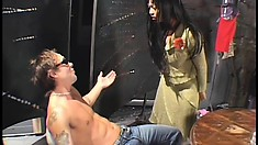 Hot Asian MILF puts his cock right where it belongs, in her snatch