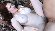 Nice woman Mae Victoria gets her pussy shaved and licked outdoors